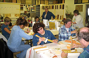 Faux and decorative painting school