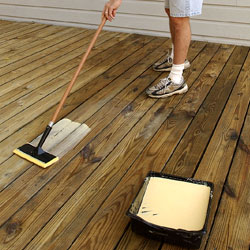 how to clean mildew off deck
